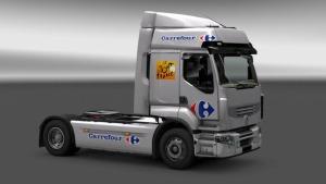 Renault Carrefour skin