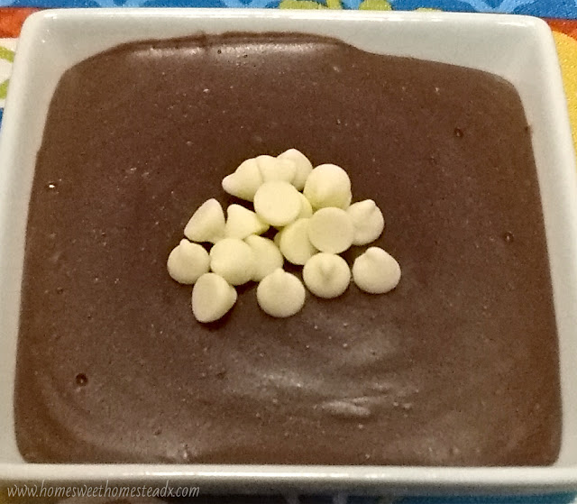 Home Sweet Homestead - Chocolate Pudding - Old Fashioned Chocolate Pudding that's rich, creamy, and chocolaty, with no eggs in sight. Plus it's gluten and dairy free!