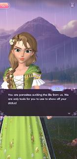 Ida criticizes the royal class