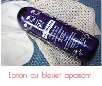 lotion aux bleuets apaisants de klorane