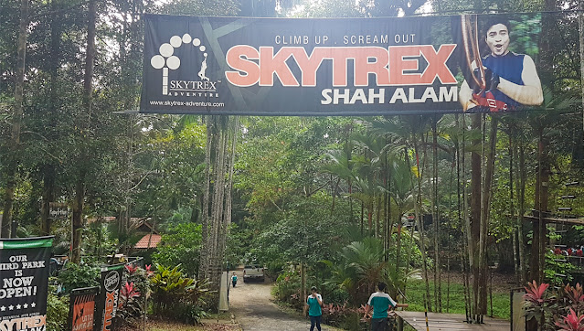Tempat percutian 4 Skytrex Shah Alam