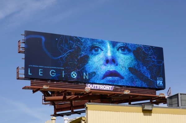 Legion season 2 Syd billboard