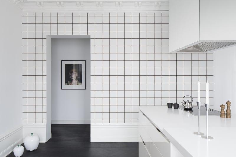 Czy można zamontować tapetę w kuchni?
