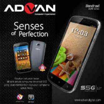 Harga Advan Vandroid S5G Terbaru