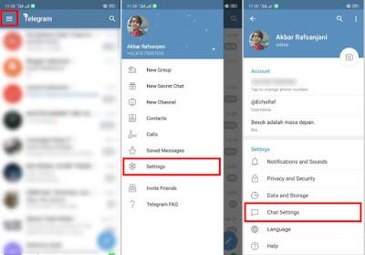 Cara Mudah Mengaktifkan Dark Mode di Telegram