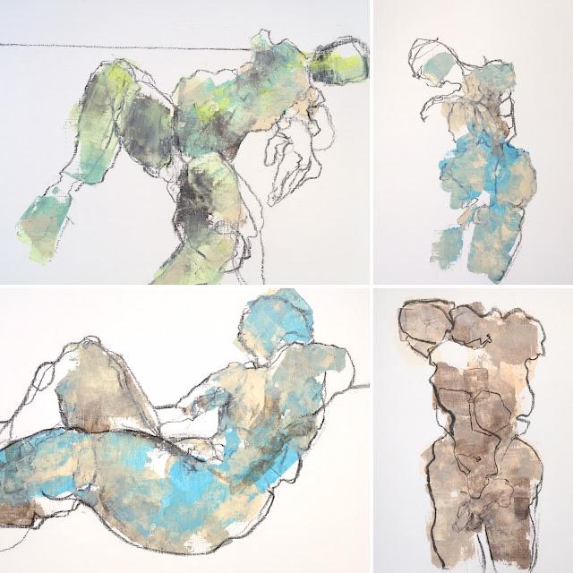 abstract figure, gallery juana