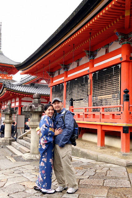Kyoto travel with kids kiyomizu dera temple