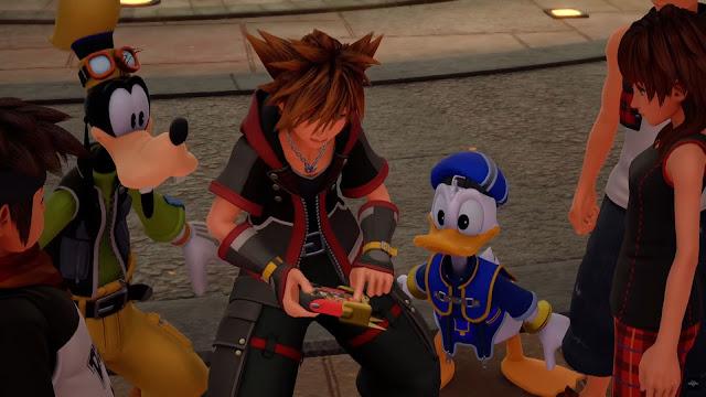 Kingdom HeartsIII Sora Donald Pateta