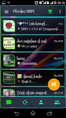 BBM MOD Transparant Versi 2.9.0.45 APK