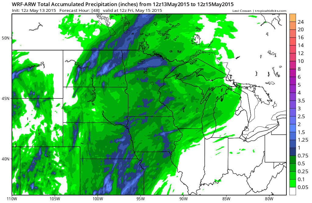 Tim Burrs Weather Blog May Weather Report Cool - Us weather map for saturday