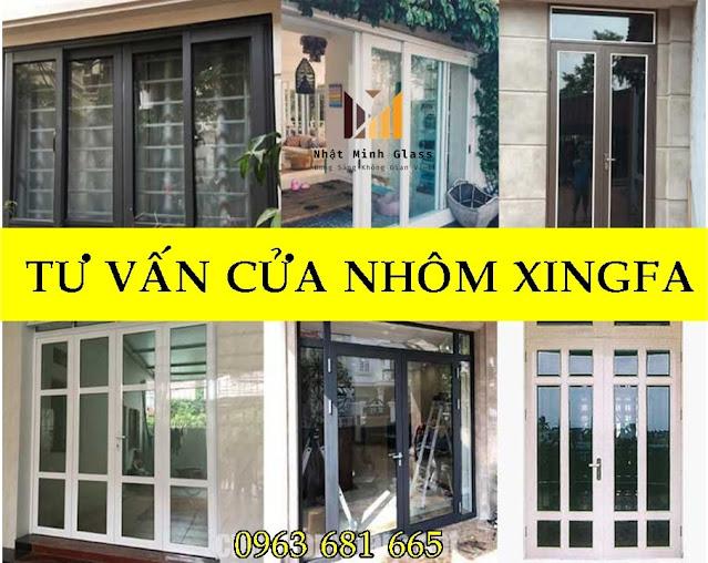Tư Vấn chọn cửa nhôm Xingfa