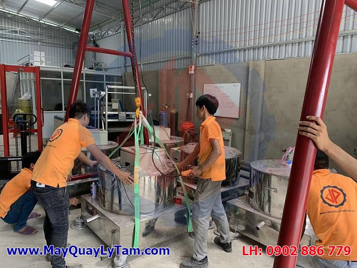 Xưởng sản xuất máy vắt ly tâm inox Vĩnh Phát, cam kết chất lượng, giá rẻ, bảo hành chu đáo