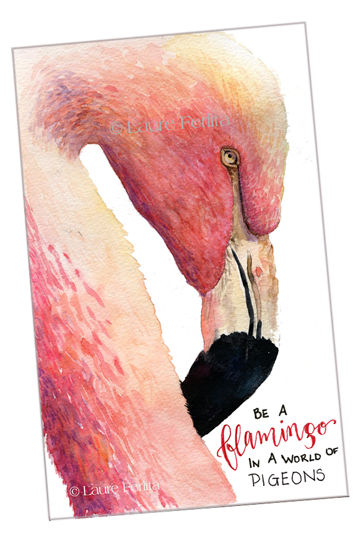 Paint A Fabulous Flamingo!