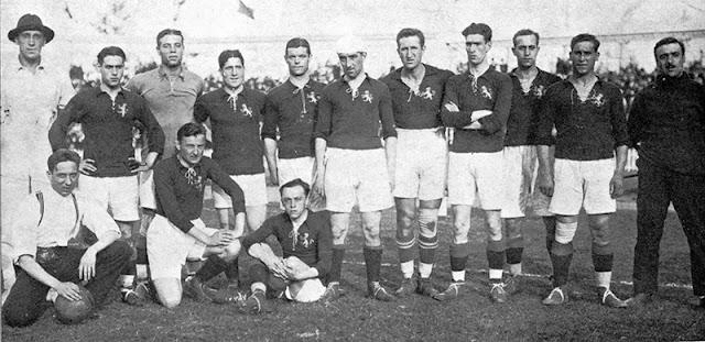 seleccion española amberes 1920