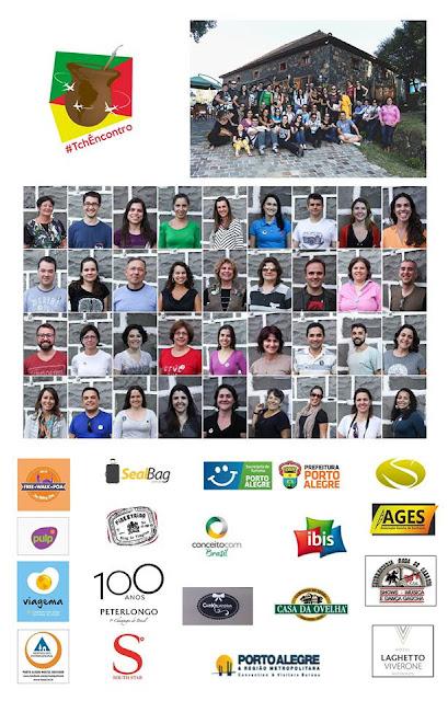 Participantes e parceiros do Tchêncontro