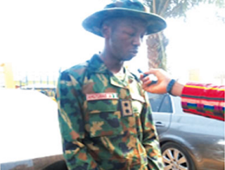 24-Year Old Fake Soldier Who Specializes In Stealing Exotic Cars Nabbed (Photo)
