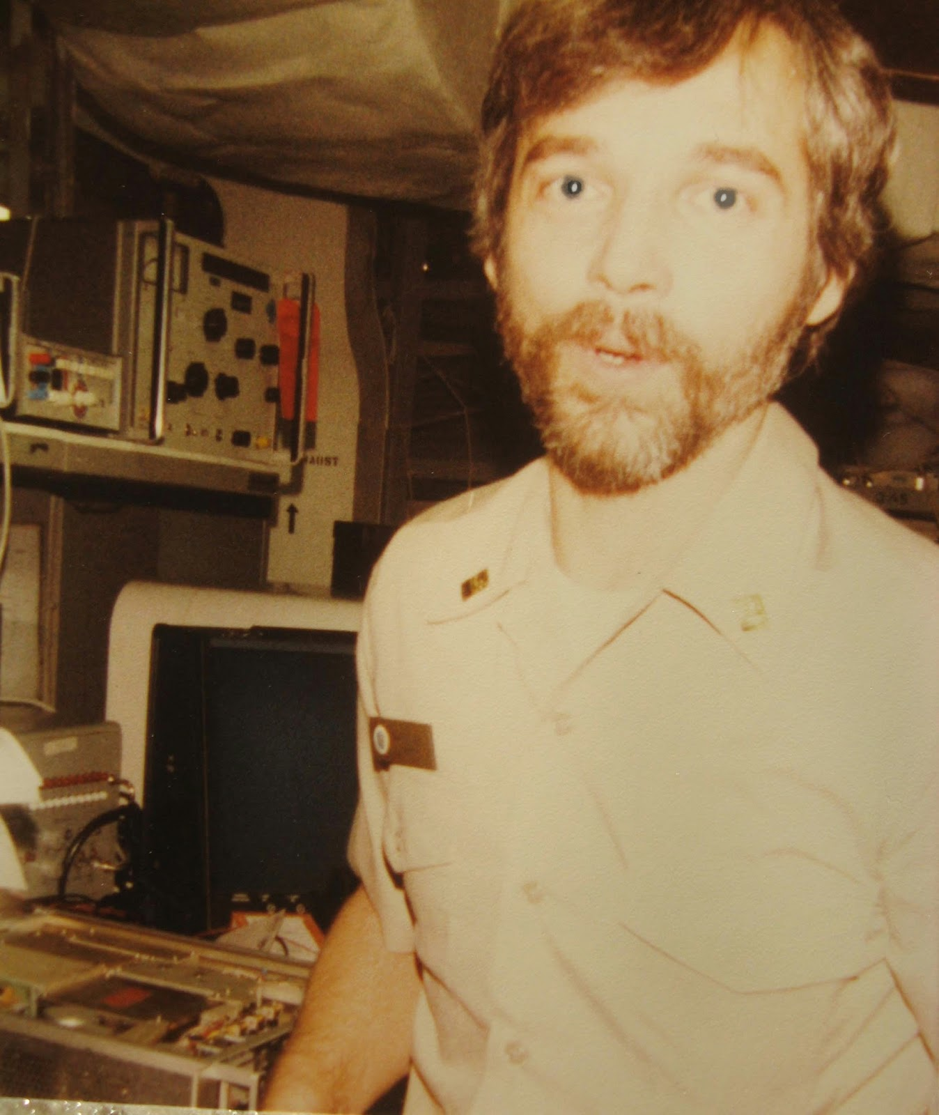 Dan K. was our civilian Tech Rep during the Med Cruise 1983