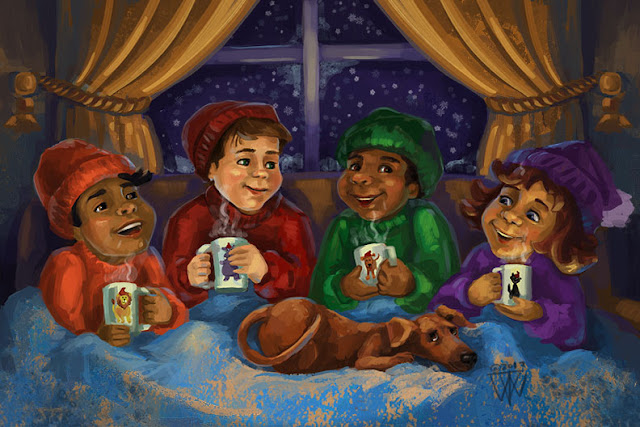 Hot Chocolate Comfort by Traci Van Wagoner