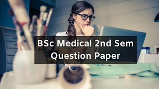 Mdu BSc Medical 2nd Sem Question Papers 2019
