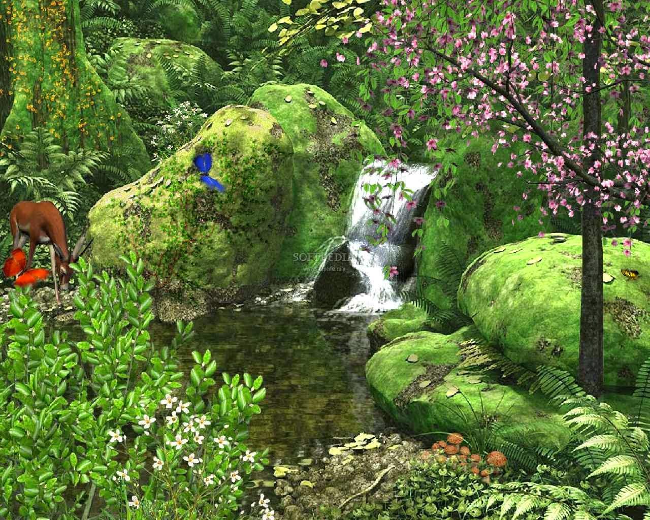 Sai Baba Animated Wallpaper For Mobile Animated Nature Wallpaper Wallpaper Animated