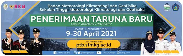 Penerimaan STMKG 2021 - Syarat dan Tata Cara Pendaftaran
