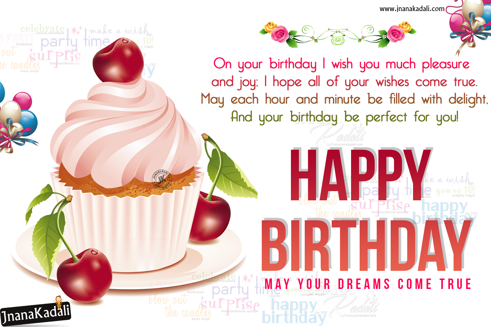 Happy Birthday Greetings In English Birthday Whats App Sharing Greetings Free Download Jnana Kadali Com Telugu Quotes English Quotes Hindi Quotes Tamil Quotes Dharmasandehalu