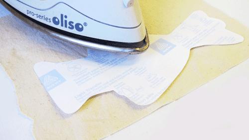 Presser le papier transfert