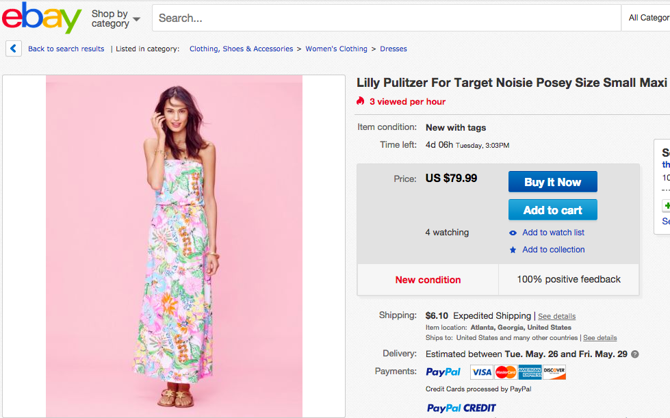 4f7744059aed Consumer alert  in the wake of the Lilly Pulitzer for Target fiasco