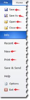 Toolbar dalam menu File yang wajib dipelajari pemula
