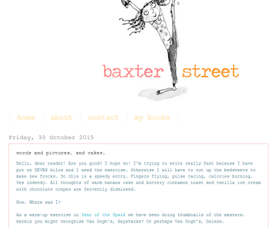 http://baxterstreet.blogspot.com.au/2015/10/words-and-pictures-and-cakes.html