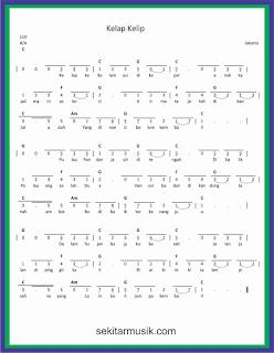 not angka kelap kelip lagu daerah jakarta