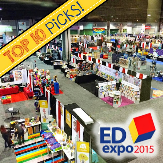 EDexpo 2015 Top 10 Blogger Picks!!!