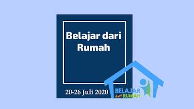 Jadwal BDR TVRI 20-26 Juli 2020