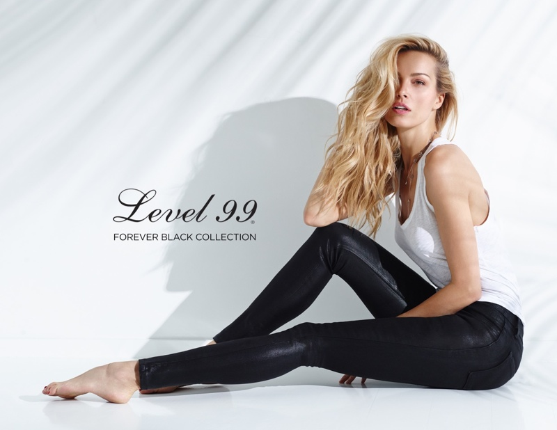 Petra Nemova flaunts curves for the Level 99 Forever Campaign