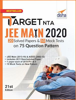 Download Latest Disha Target JEE Main 2021 ebook Pdf