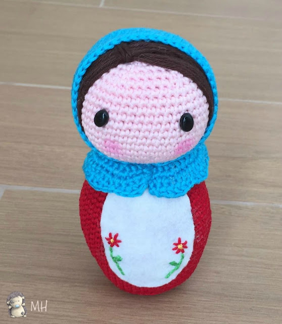matrioska amigurumi