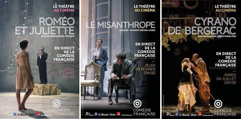 La Comédie Française au cinéma avec trois œuvres emblématiques !