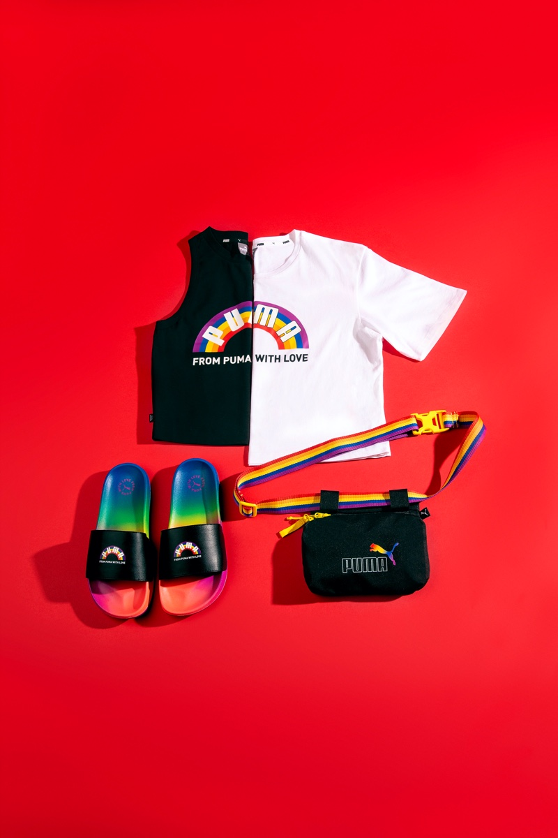 From PUMA With Love Pride pack.