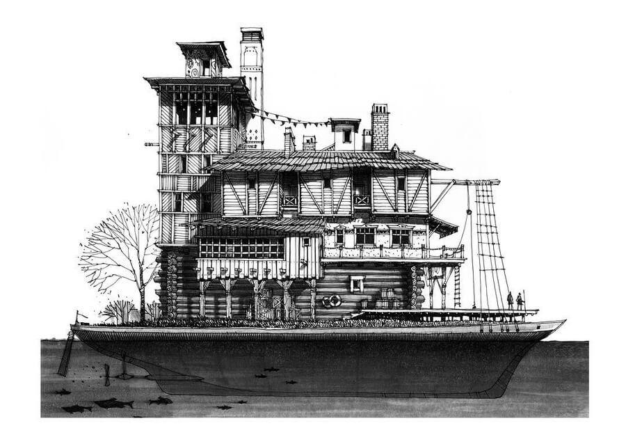 03-Houseboat-Roman-Maklakov-www-designstack-co