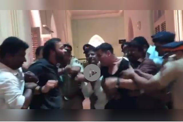 Akshay Kumar Rohit Shetty's BIG Fight Video With Katrina Kaif From Sooryavanshi SETS|या' कारणामुळे अक्षय कुमार व रोहित शेट्टीत झाली हाणामारी, पाहा व्हिडीओ