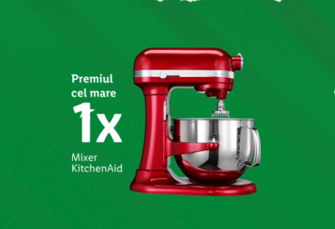 Concurs - Castiga un Mixer KitchenAid sau vouchere pentru cumparaturi la LIDL - concursuri - online