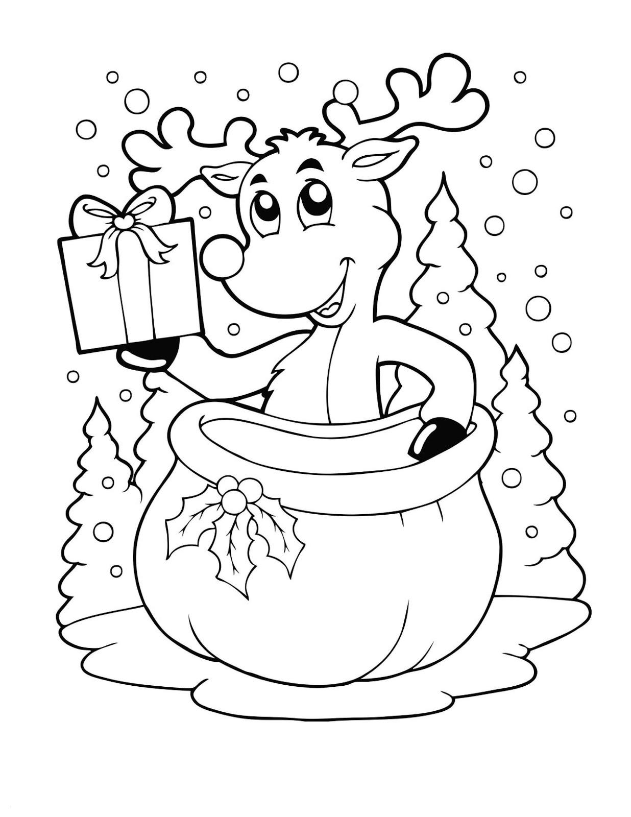 Malvorlagen Kreidestift Weihnachten