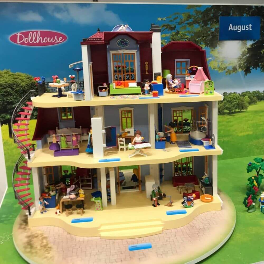 Конструктор кукольный дом Playmobil новинки 2020