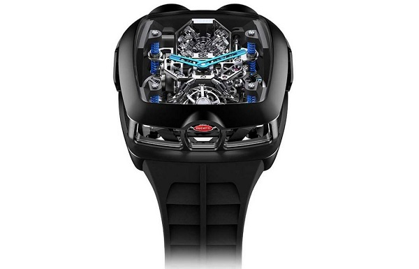 Jacob & Co. Bugatti Chiron 16 Cylinder Tourbillon