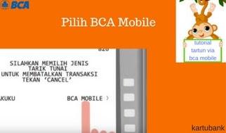 Gambar 7 - 10 Langkah Mudah Cara Tarik Tunai di ATM dengan BCA Mobile