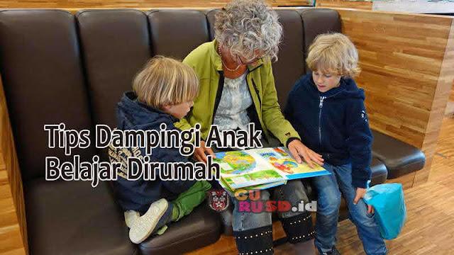 5 Tips Dampingi Anak Belajar Dirumah, Ibu Harus Sabar