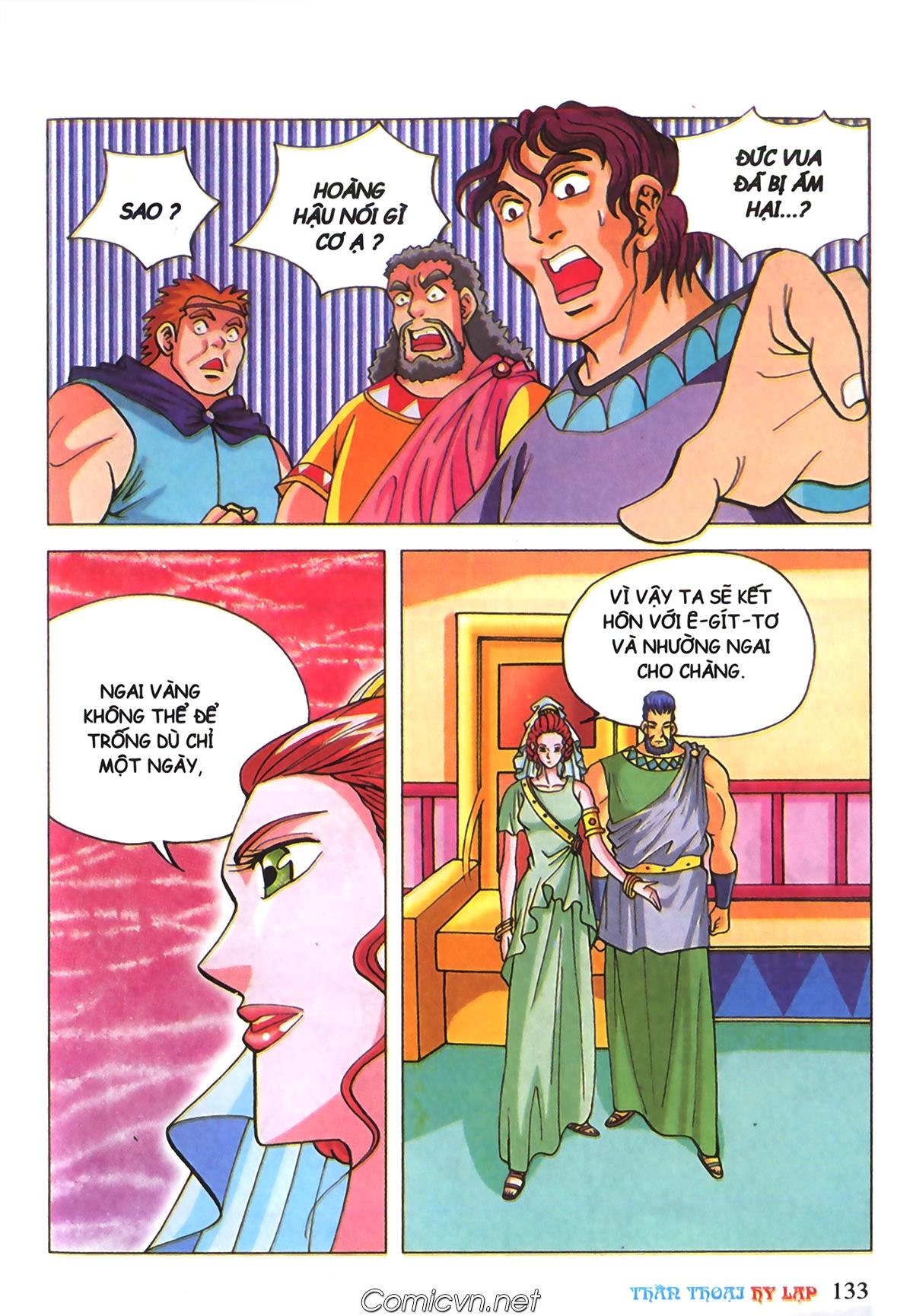 Thần Thoại Hy Lạp Màu - Chapter 70: Nàng Ê lếch tơ - Pic 26