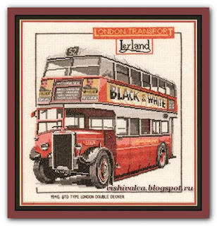 "Heritage Crafts Серия: Other CLD159 ""London Double Decker Bus"""