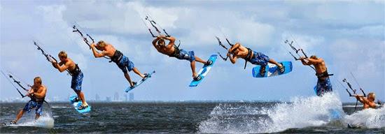 kitesurf radical