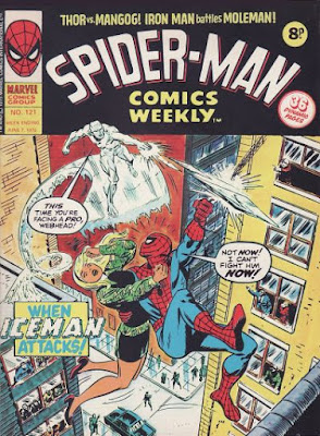 Spider-Man Comics Weekly #121, Iceman